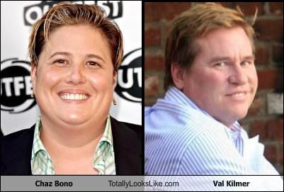Chaz Bono Totally Looks Like Val Kilmer