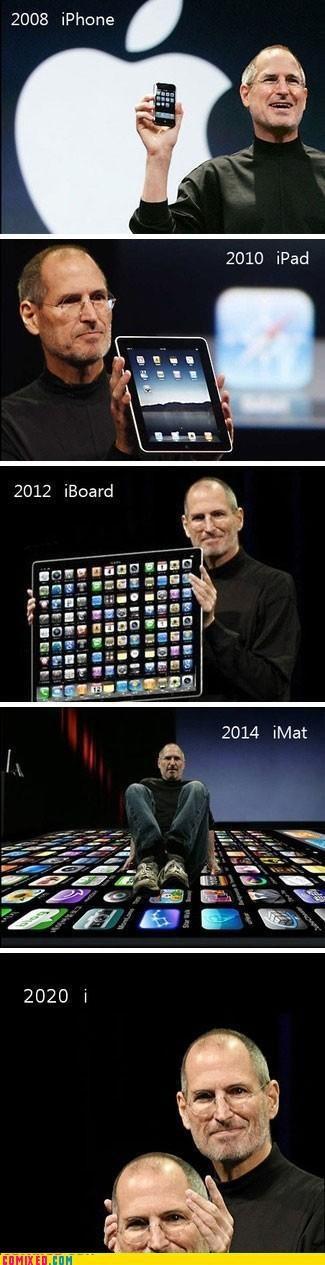 apple,celebutard,ipad,iphone,mac,steve jobs