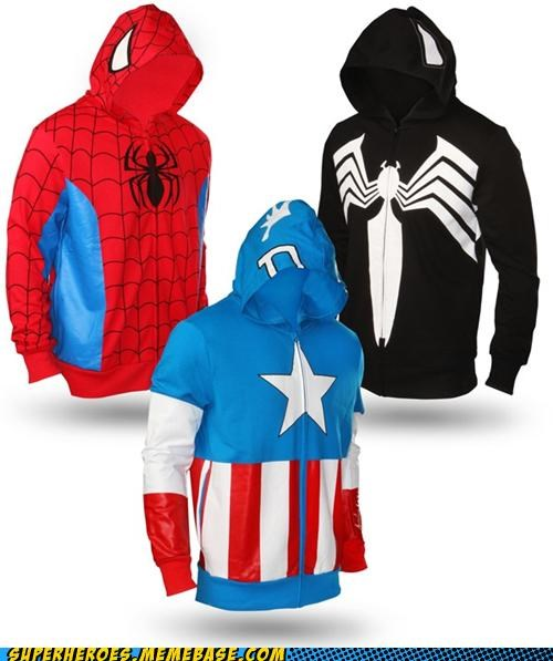 The Style of a Hero, the Comfort of a Hoody