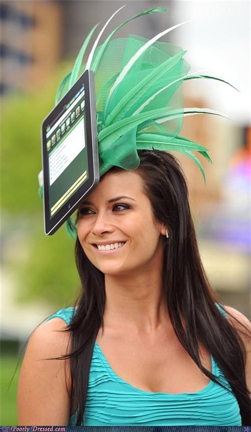 hat,headress,ipad,mac