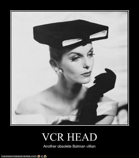 VCR HEAD