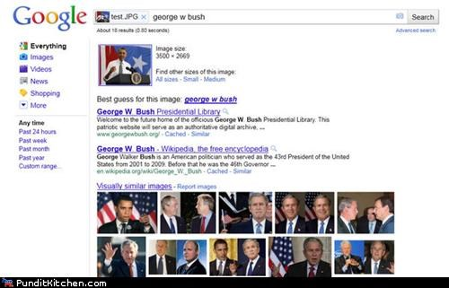 New Google Image Search Can't Tell the Difference Between Obama and Bush