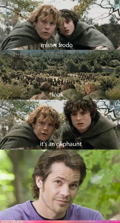 Oliphaunt In Middle Earth
