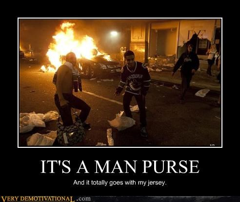 IT'S A MAN PURSE