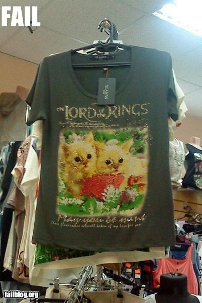 branding,clothing,failboat,g rated,Hall of Fame,knockoff,Lord of the Rings