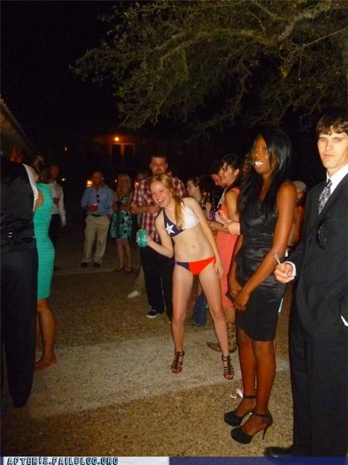 dressed up,lingerie,outside,Party,swimsuit