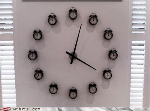 A Clock Made of Other Clocks