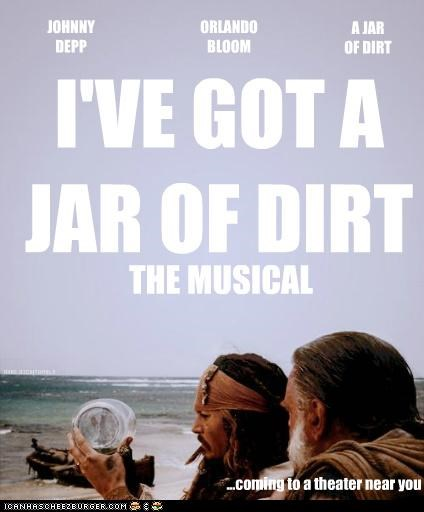 I'VE GOT A JAR OF DIRT