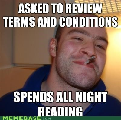 Good Guy Greg: When He Agrees, He Means It