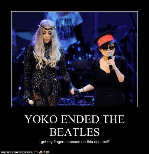 YOKO ENDED THE BEATLES