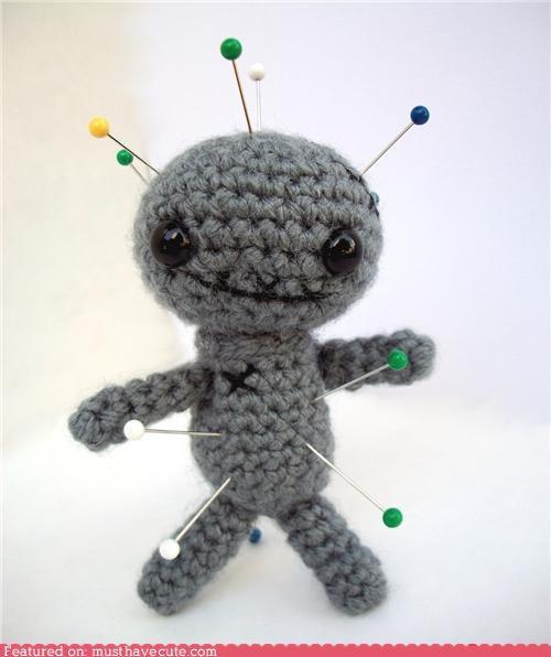 Amigurumi,enemy,pins,punishment,voodoo doll
