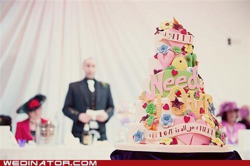 funny wedding photos,the Beatles,wedding cakes