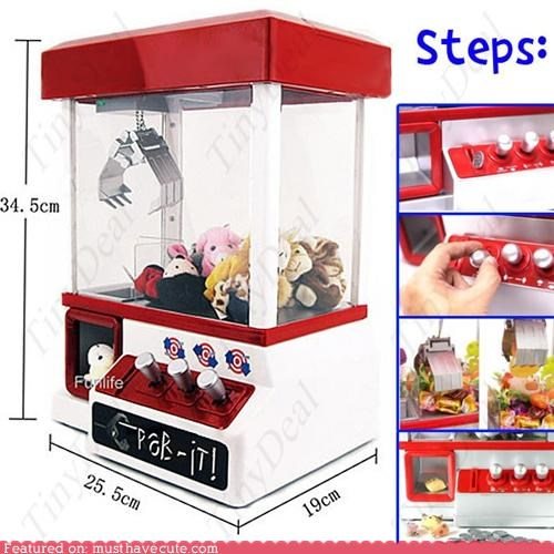 Home-Sized Grabbing Prize Machine