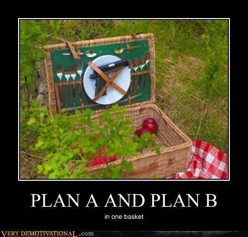 hilarious,picnic,plan a,plan b