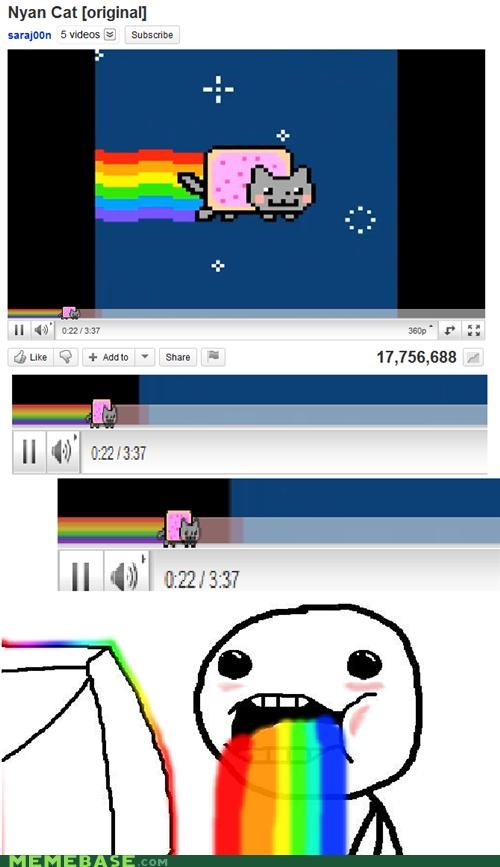 explosion,Inception,must,Nyan Cat,rainbows,youtube