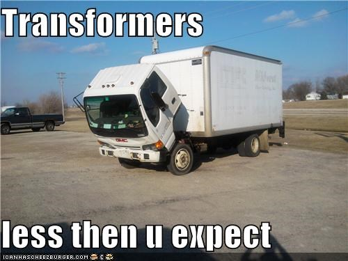 Transformers  less then u expect