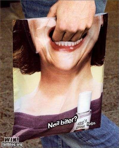 Clever Shopping Bag Ad WIN