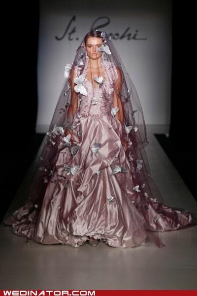 bridal fashion,funny wedding photos,poll,pretty or not,runway,wedding fashion,wedding gown