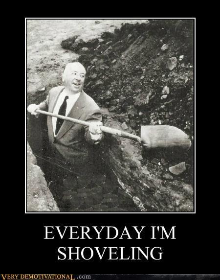 alfred hitchcock,grave,hilarious,shoveling
