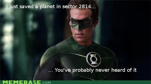 Hipster Green Lantern: Good Superhero Movies Are So Mainstream
