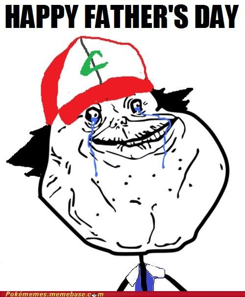 fathers day,substitute,forever alone,professor oak