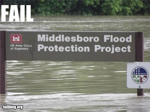 Flood Protection FAIL