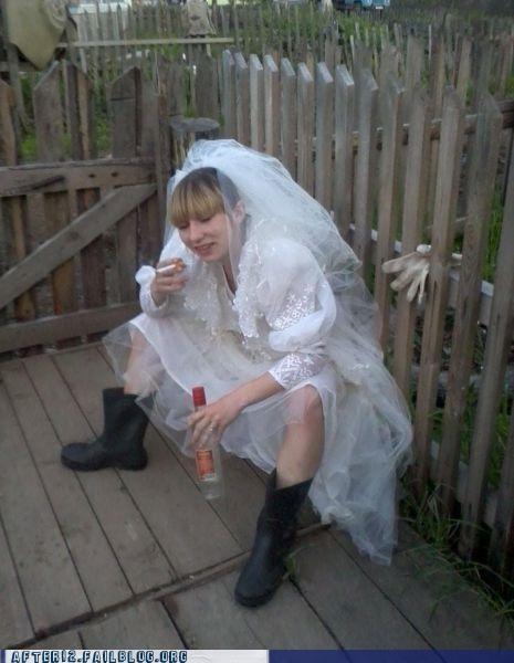 Gonna Be a White Trashed Wedding