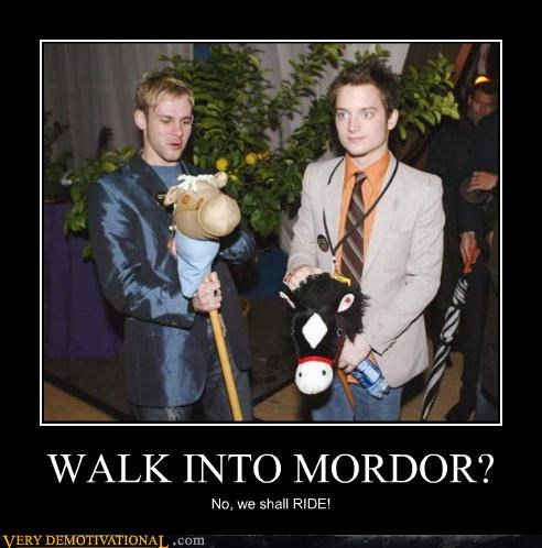 WALK INTO MORDOR?