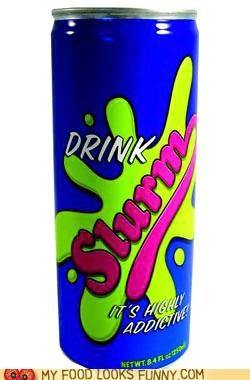 energy drink,futurama,highly addictive,nasty,queen,slurm,Video,worm