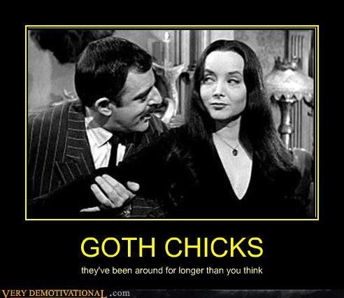 addams family,goth chicks,Terrifying,TV