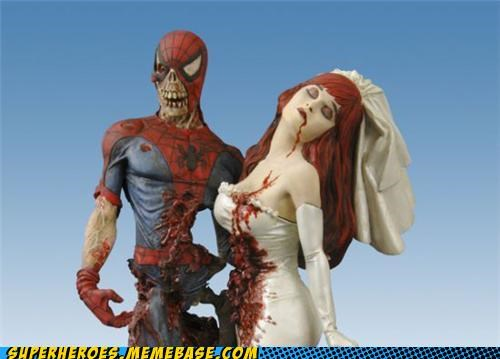Spidey Got Himself Pretty Damn Undead