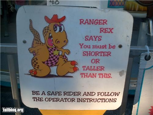 Oddly Specific: Ranger Rex is Damn Lazy