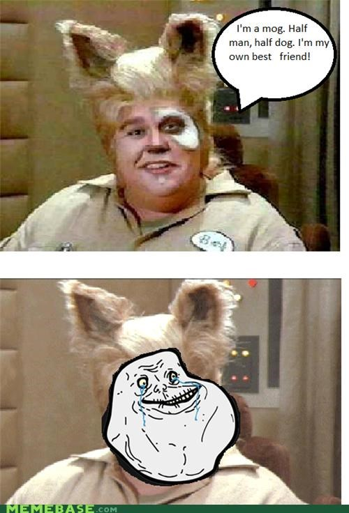 barf,dogs,forever alone,john candy,man,Mog,movies,spaceballs