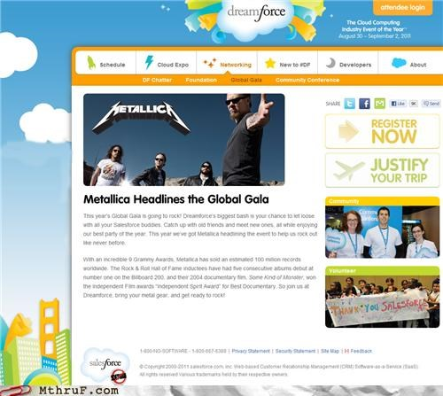 metallica,sales,sponsors,testingzone