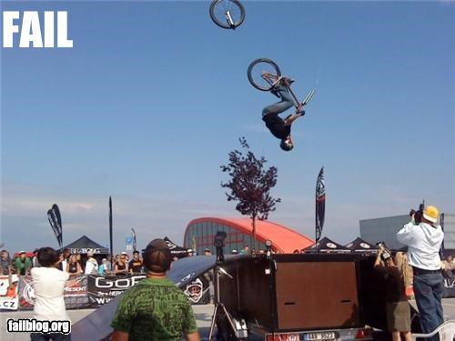 Mid-Air BMX FAIL