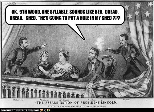 President Lincoln Was Terrible At Charades