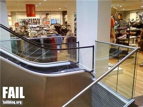 Escalator Location FAIL
