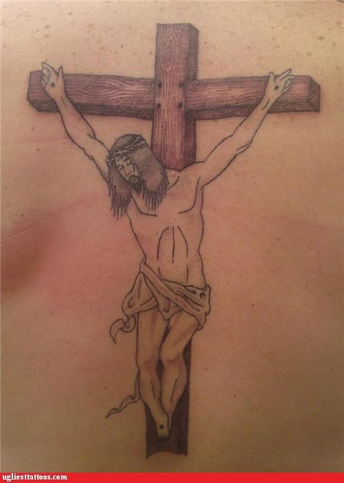 They Crucified Dwarf Jesus Too?!?!