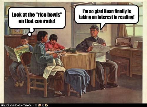 I'm so glad Huan finally is taking an interest in reading!