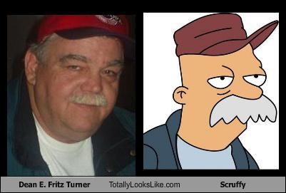 "Dean E. Fritz Turner Totally Looks Like Scruffy From ""Futurama"""