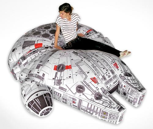 Millennium Falcon Beanbag of the Day