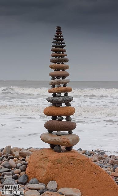 balancing,rocks,skills,the beach