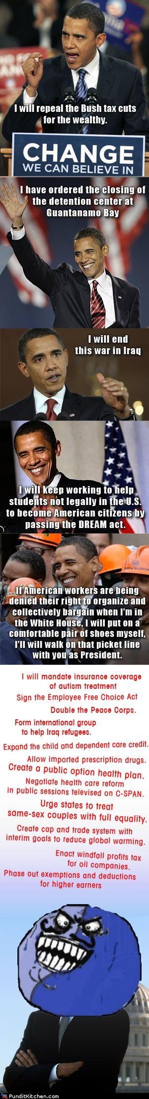 barack obama,political pictures,promises