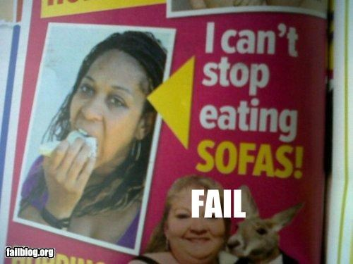 Eating Disorder FAIL