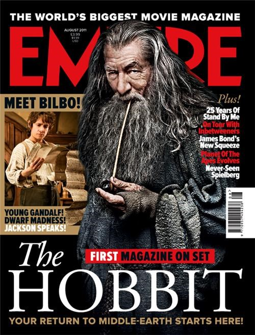 The Hobbit Magazine Cover of the Day
