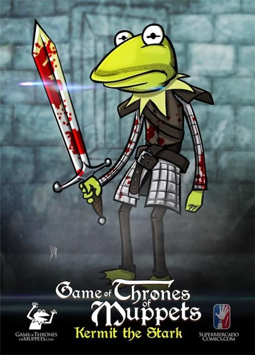 Game of Thrones Muppets of the Day