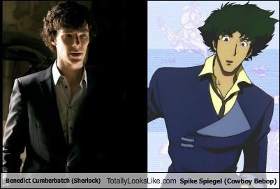 Benedict Cumberbatch (Sherlock) Totally Looks Like Spike Spiegel (Cowboy Bebop)