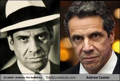 "Al Lettieri  (Sollozzo, ""The Godfather"") Totally Looks Like Andrew Cuomo"