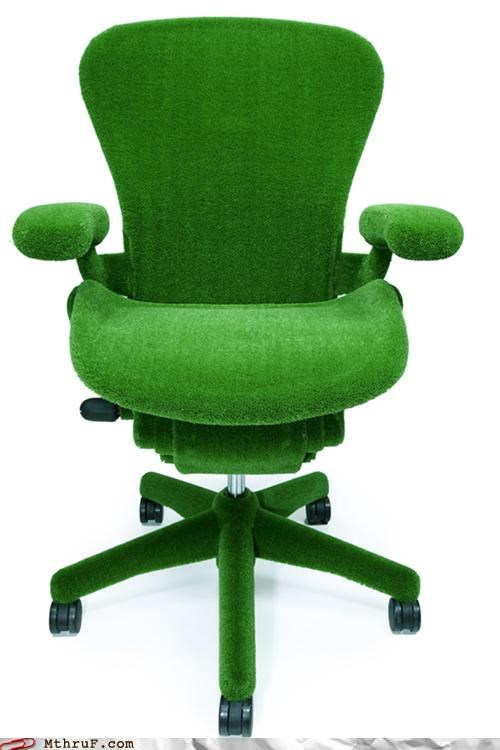 Office Swag: Astroturf Chair