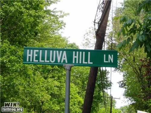 hills,signs,street,street name